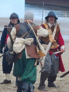 Civil War re-enactment at Weymouth.