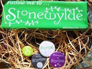 Stonewylde logo car sticker and badges