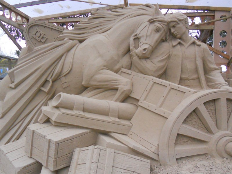 Sandworld War Horse