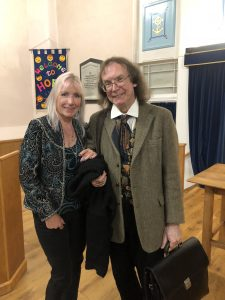 Kit Berry and Ronald Hutton